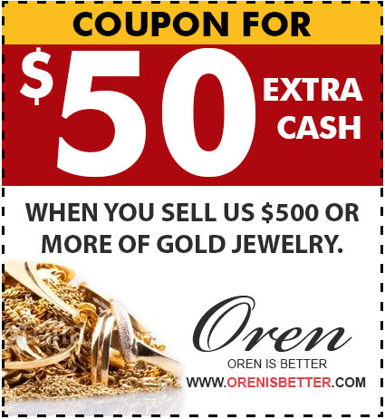 Collect Coupons At Oren Cash For Gold Toronto