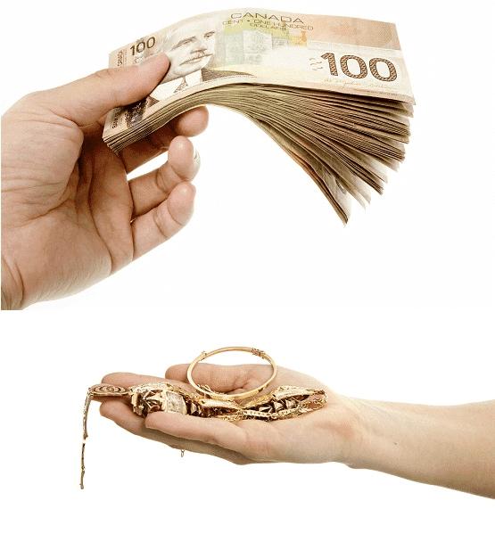 Cash For Gold In Oakville Toronto Cash for Gold