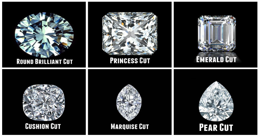 6 Different Types Of Diamond Cuts